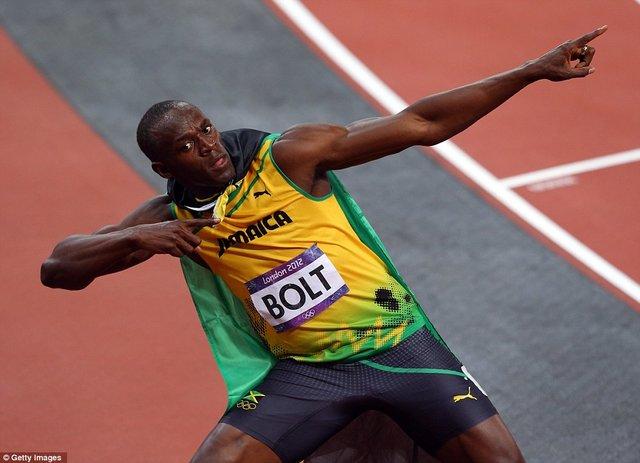 یوسین بولت سریع ترین دوندۀ جهان