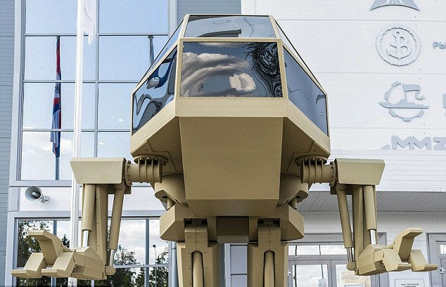 ربات جنگی غول پیکر کلاشنیکف Controlled Bipedal Walker رونمایی شد ...