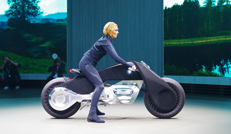 موتورسیکلت عجیب بی ام و کانسپت NEXT 100