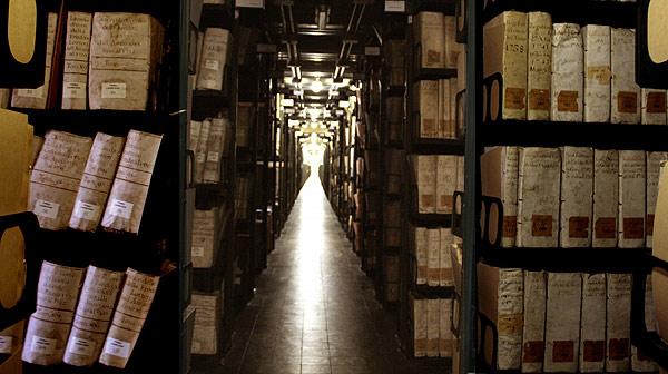 بایگانی سری واتیکان Archivum Secretum Apostolicum Vaticanum رازی همچنان سر به مهر